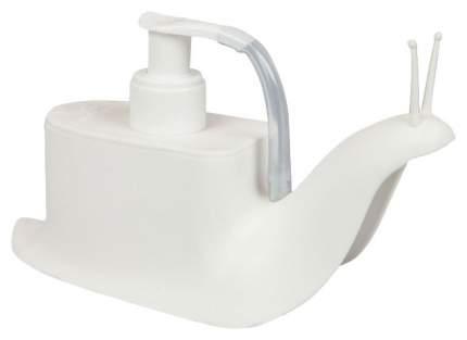Дозатор для мыла Qualy Escar QL10261-WH-WH