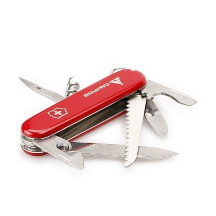 Мультитул Victorinox Camper 1.3613.71 91 мм красный, 13 функций