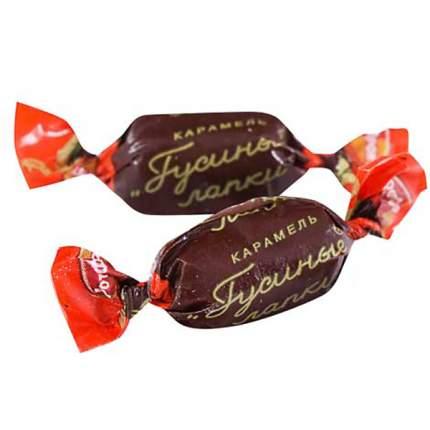 Карамель РотФронт гусиные лапки с шоколадно-ореховой начинкой 500 г