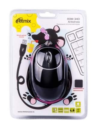 Проводная мышка Ritmix ROM-340 Black