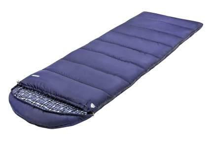 Спальный мешок Trek Planet Glasgow синий, левый