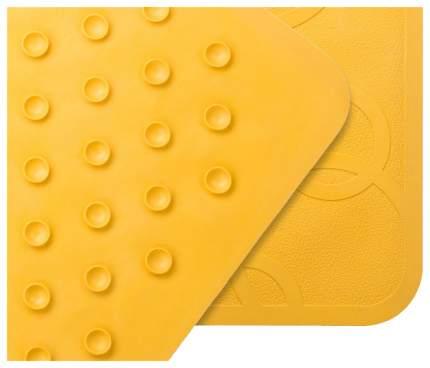 Коврик резиновый Roxy kids антискользящий для ванны 35x76см желтый