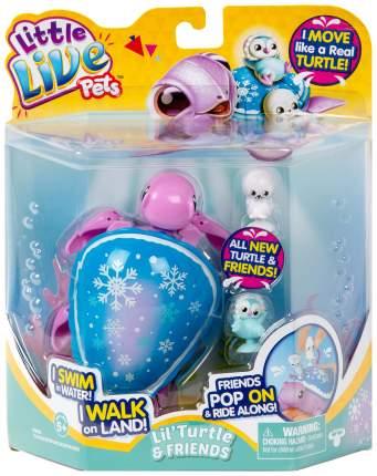 Интерактивная игрушка Little Live Pets Черепашка и друзья Снежный бриз