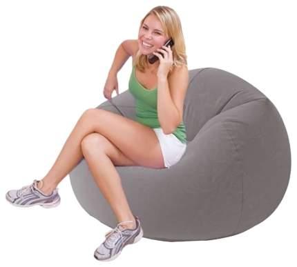Надувное кресло Intex Beanless Bag Chair 68579 Серый