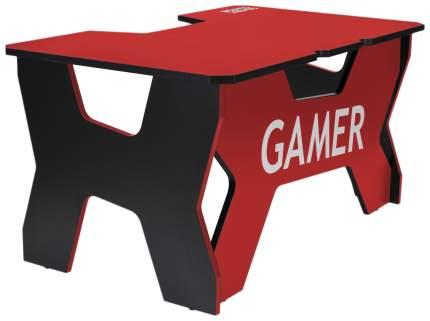 Компьютерный стол Generic Comfort NR 150x90x75 см, красный/черный