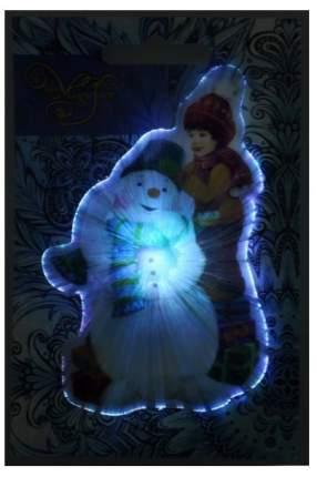 Украшение новогоднее Феникс-Презент Снеговик и мальчик