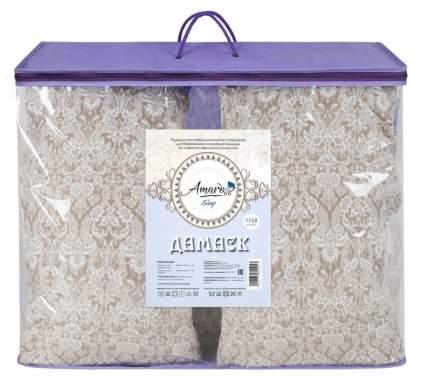 Подушка для беременных AmaroBaby U-образная 340х35 (Дамаск кофе)