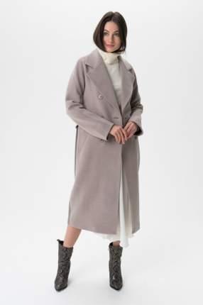 Пальто женское ElectraStyle 5-8117/4-128 серое 48 RU