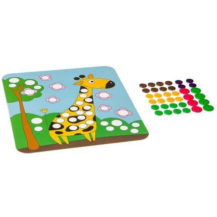"""Набор для творчества """"Картина из пуговиц для малышей. Жирафик"""""""