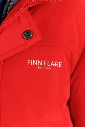 Полупальто для мальчика Finn Flare, цв. красный, р-р. 152