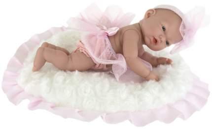 Пупс-мини Nines d'Onil Новорожденная, в розовом, с подушкой