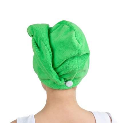 Полотенце-тюрбан для волос Verona, зеленое