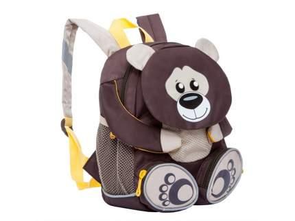 Рюкзак детский Grizzly RS-898-2 медведь