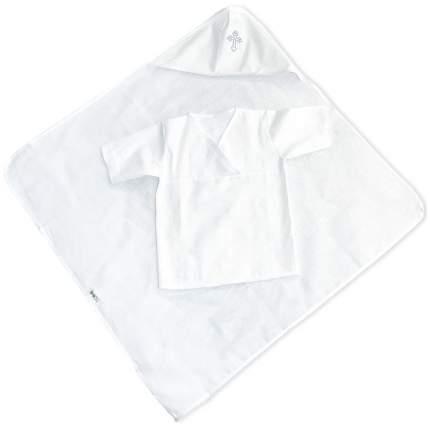 Крестильный набор для мальчика Labeillebaby Кроха 9041/М белый