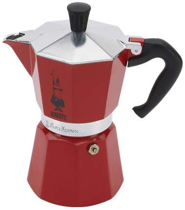 Кофеварка гейзерная Bialetti 06633 Красный