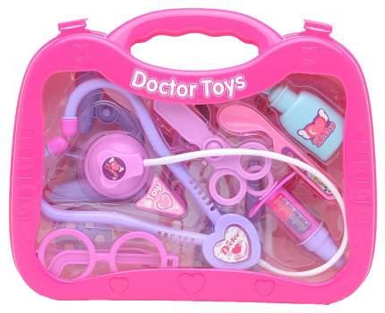 Игровой набор доктора doctor toys розовый Shantou Gepai 7757B