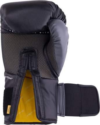 Боксерские перчатки Everlast Protex2 Gel черные 10 унций