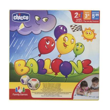 Настольная игра Chicco Toy Balloons 3г+