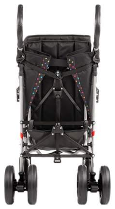 Кресло-коляска Meyra Umbrella new для детей ДЦП горох-черный цельнолитые
