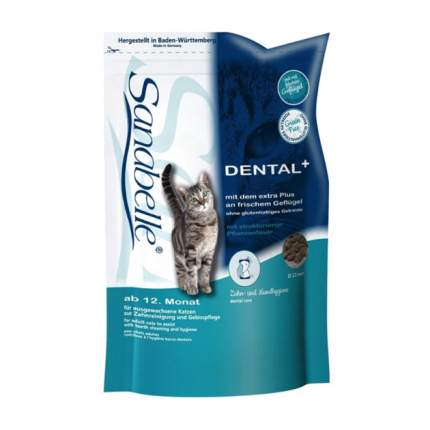 Сухой корм для кошек Bosch Sanabelle Dental, домашняя птица, 2кг