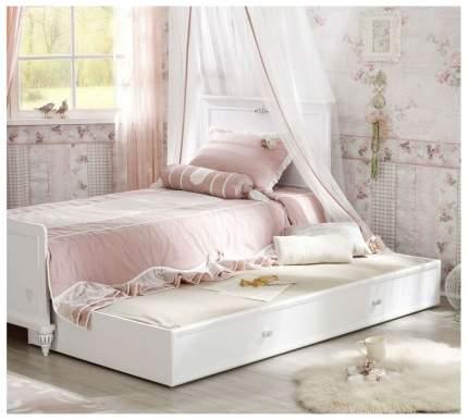 Детская кровать выдвижная Cilek Romantica Белый