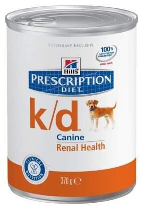 Консервы для собак Hill's Prescription Diet k/d Kidney Care, курица, 370г