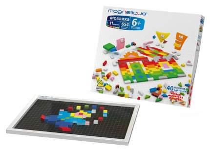 Мозаика MAGNETICUS 6+ / 654 элемента /11 цветов /40 этюдов MM-650
