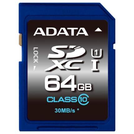 Карта памяти ADATA SDXC Premier ASDX64GUICL10-R 64GB