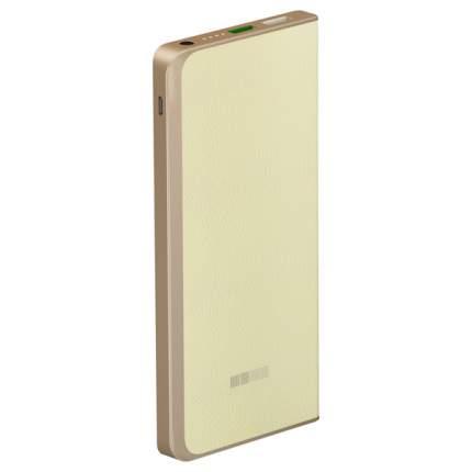 Внешний аккумулятор InterStep PB6000QC 6000 мА/ч (IS-AK-PB6008QCW-000B21) Beige