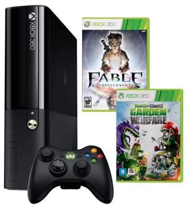 Игровая приставка Microsoft Xbox 360 500Gb+Plants vs Zombies+Fable Anniv. (3M4-00014)