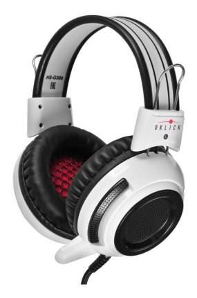 Игровая гарнитура OKLICK Armageddon HS-G300 White/Black