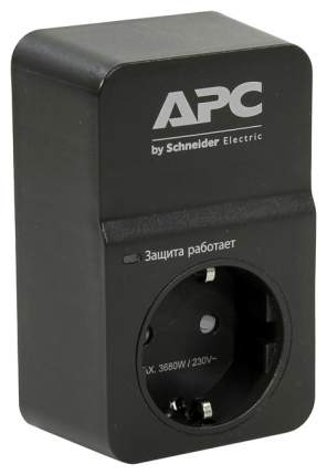 Сетевой фильтр APC PM1WB-RS, 1 розетка Black