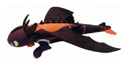 Мягкая игрушка Dragons 66592 Беззубик плюшевый, запускается и летит