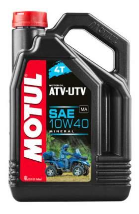 Моторное масло Motul ATV-UTV 4T 10W-40 4л