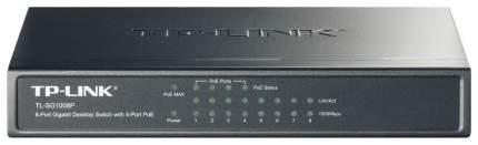 Коммутатор TP-LINK TL-SG1008P Black