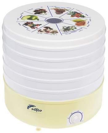 Сушилка для овощей и фруктов Ротор СШ-002 white/yellow