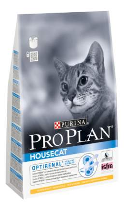 Сухой корм для кошек PRO PLAN Housecat, для домашних, курица, 1,5кг