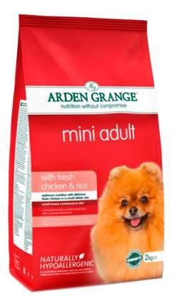 Сухой корм для собак Arden Grange Adult Mini, курица, рис,  2кг