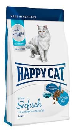Сухой корм для кошек Happy Cat La Cuisine, морская рыба, 0,3кг