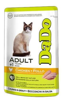 Влажный корм для кошек Dado Adult, с курицей, 85г