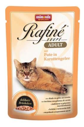 Влажный корм для кошек Animonda Rafine Soupe Adult, индейка, 24шт, 100г