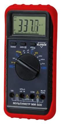 Мультиметр ELITECH ММ 500 красный/черный