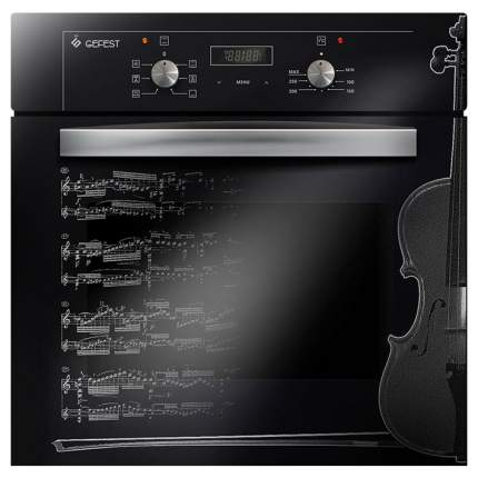 Встраиваемый электрический духовой шкаф GEFEST ДА 622-02 Д1 Black/Grey