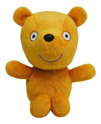 Мягкая игрушка Beanie Babies - Peppa Pig Мишка Teddy, 18 см