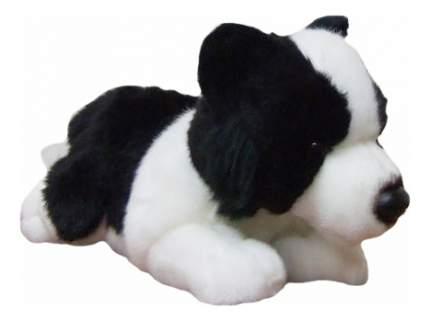Мягкая игрушка SOYA Щенок породы бордер-колли, 20x9x11 см