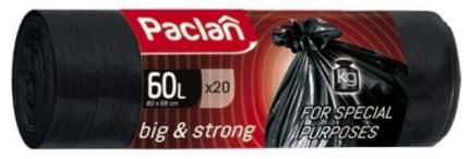 Мешки для мусора Paclan Big & Strong 60л 20шт