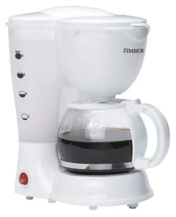 Кофеварка капельного типа Zimber 11009 Белый