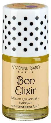 Масло для ногтей Vivienne Sabo Bon Elixir с витаминами А и Е 15 мл