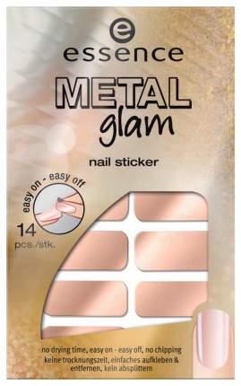 Наклейка для ногтей essence Metal Glam Nail Stickers 03 Glam-Me