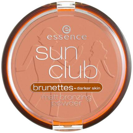 Пудра бронзирующая essence Sun Club Matt Bronzing Powder 02 Suntanned